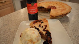 How to Bake Napa Valley Strawberry Balsamic Rhubarb Pie