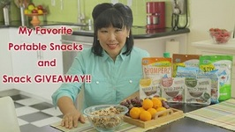 My Favorite Portable Snacks & FREE GIVEAWAY SNACKS!