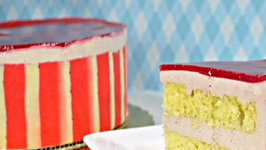 Episode 147 - Raspberry Bavarian Torte - 7-22-14 - The Aubergine Chef HD