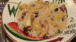 Chicken With Black Beans And Corn