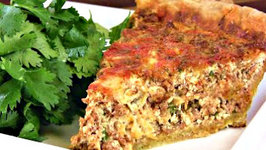 Chorizo and Cheese Quiche Recipe And Spinach and Artichoke Quiche Recipe