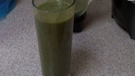 Spinach Smoothie with Fruit - Weight Loss
