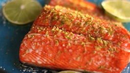 How To Cook Salmon -Maple-Lime Baked Salmon