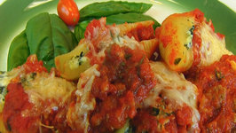 Betty's Cheese and Spinach Stuffed Pasta Shells in Basil Tomato Sauce