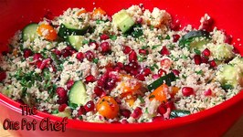 Pomegranate Cous Cous Salad