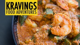Prawn with Bhindi & Bimli