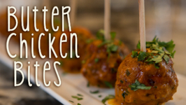 Yummy Butter Chicken Bites
