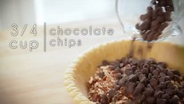 Chocolate Pecan Bourbon Pie Recipe