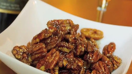 Bourbon Infused Maple Pecans