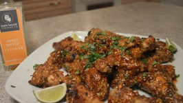 How to Bake Spicy Mango Thai Chicken Wings