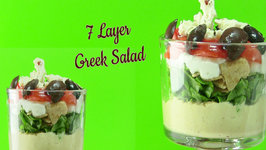 Quick & Healthy Seven Layer Greek Salad