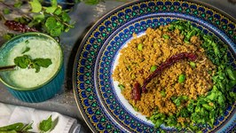 Green Kitchen - Green Quinoa Pulao Recipe