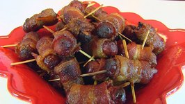 Betty's Bacon-Wrapped Lit'l Smokies -- Easter