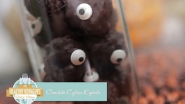 Vegan Chocolate Cyclop's Eyeballs