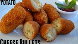 Potato Bullet- Potato Crosscurrents-Party Appetizer