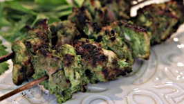 Pahadi Kebab - Mint and Coriander Boneless chicken