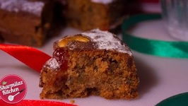 Christmas Fruit Cake Without Alcohol - Cake in Pressure Cooker