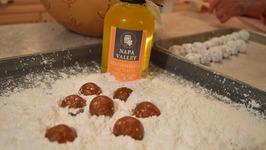 How to Make Chocolate Macadamia Rum Balls