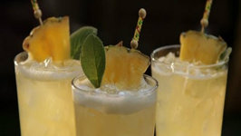 Pineapple Mezcal Cooler