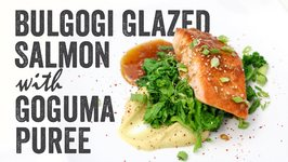 Bulgogi Glazed Salmon with Goguma Puree Recipe: Season 4, Ep. 5