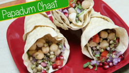 Chatpata Papadum Chaat