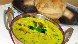 Aloo Methi Malai Curry - Potato Fenugreek Curry