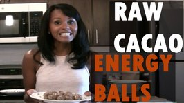 Raw Vegan Cacao Energy Balls