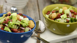 Lettuce and Bean Salad (Iron Rich Recipe)