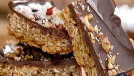 Oat 'n' Toffee Grahams Squares Recipe