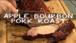 Bone In Pork Roast With Jim Beam Apple Bourbon Glaze Recipe On The Traeger Grill