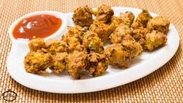 Sanna Pakoras- Crunchy Onion Fritter- Sindhi Snack