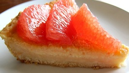 Pink Grapefruit Pie - Unique Dessert