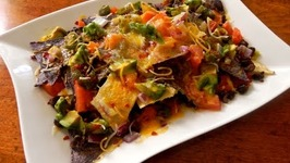 Super Quick and Healthy Natural Nachos