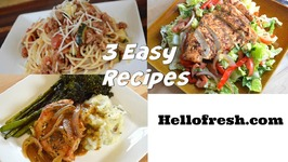 Beef, Tomato & Garlic Ragu Pan Seared Pork Chopped Chicken Salad HelloFresh