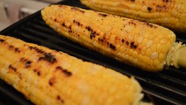 How to Grill Corn-on-the-Cob with Lavender Oil