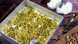 Green Kitchen - Green Pistachio Barfi Recipe - Yummy & Delicious Sweet