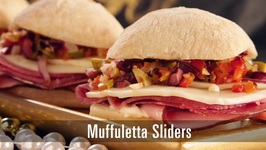 90 Second Muffuletta Sliders