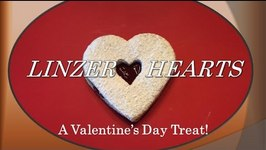 Linzer Hearts Valentine's Day Treat