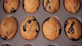 Blueberry Grape Muffins