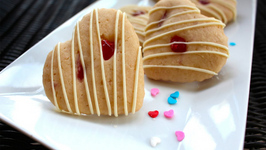 Maraschino Cherries and White Chocolate Cookies -Valentine's Day