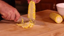 Corn Shucking