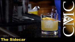 The Sidecar Cocktail -Pierre Ferrand Cognac
