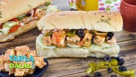 Paneer Tikka Sub Sandwich