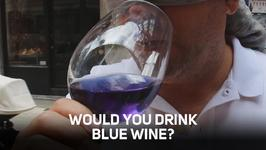 Blue wine? Cheers to the new wine hit!