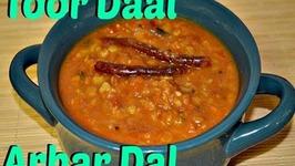 Punjabi Style Toor Daal