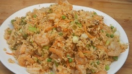 Shrimp Fried Rice On The Weber Kettle