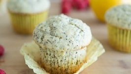 Lemon Poppy Muffins with Raspberry Butter Recipe