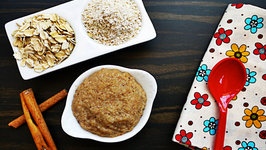 Oatmeal Cereal - Homemade Baby Food