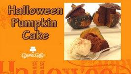 Halloween Pumpkin Cake - How to Make