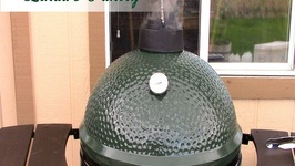 Smoked Chicken On The Big Green Egg